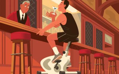 ¿Puedo beber alcohol y perder peso?